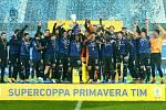 Fotbalista Lukáš Vorlický oslavil s Atalantou Bergamo U19 vítězství v Superpoháru Primavera.