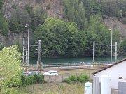 Zatopený lom v Blansku stále není oplocený.