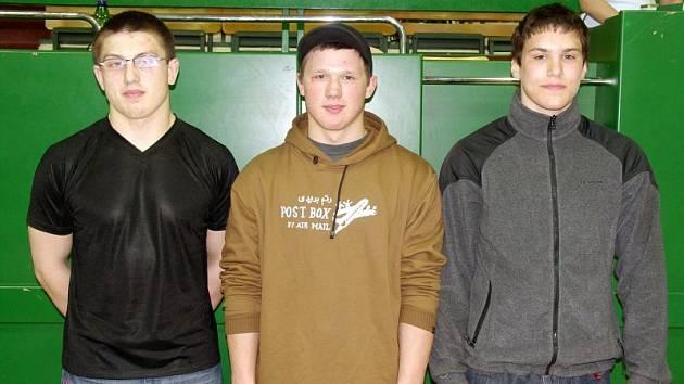 Tři blanenští závodníci z BeF Blansko