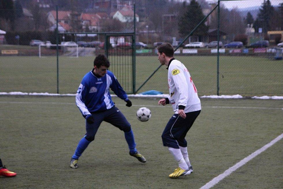 Fotbalisté Boskovic s Blanskem vedli 2:0, nakonec prohráli 3:2.