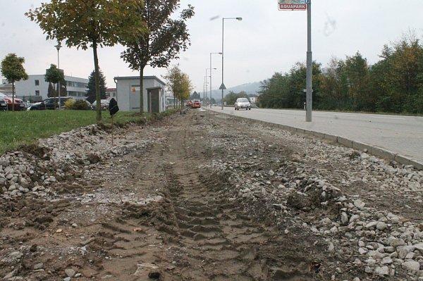 Vzniká další část cyklostezky, která propojí Blansko sRáječkem.