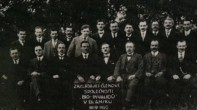 Kino v Blansku postavili členové spolku Bio invalidů v roce 1921.