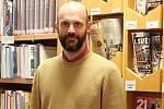 Ředitel knihovny v Blansku Lukáš Dlapa.