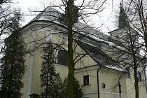 Doubravický kostel.