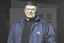 Asistent trenéra fotbalistů Ráječka Jiří Škaroupka.