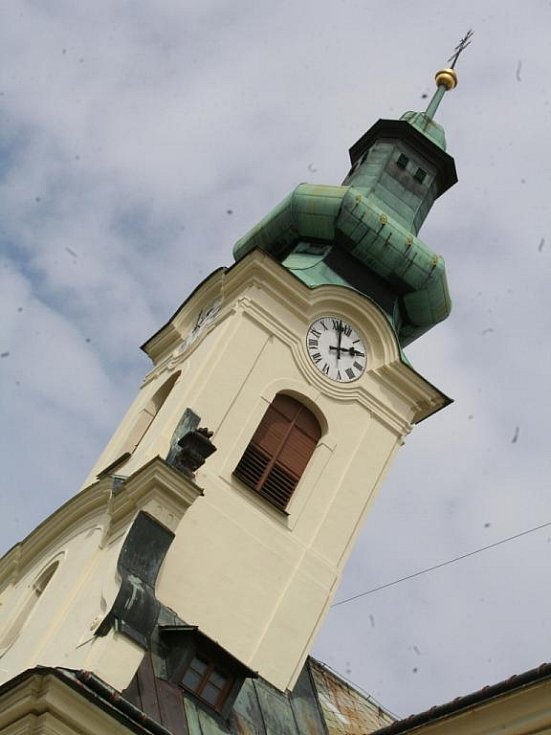 Lidé kromě barokní lékárny mohli navštívit i letovický kostel sv. Prokopa.