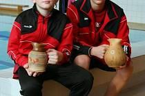 Michal Vencel i Dominik Špaček