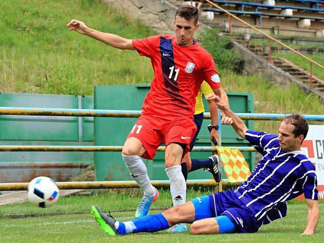 V utkání jihomoravské divize prohráli fotbalisté FK Blansko s FSC Stará Říše 0:3.