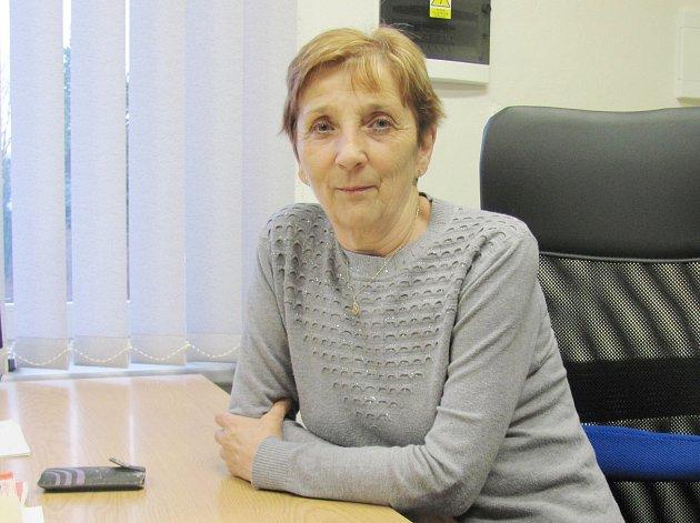 Oldřiška Kořístková spojila svůj život s prací pro obec Stvolovou.