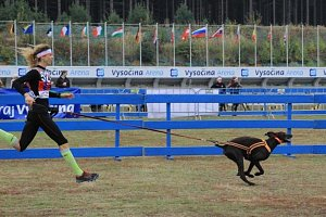 Kakáčová: Canicross je souhra běžce a psa