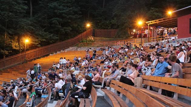 Letní kino v Boskovicích.