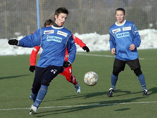 Fotbalisté Blanska v přípravě podlehli Vyškovu.
