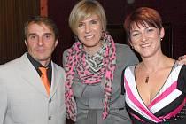 Ve Sloupě ocenili nejlepší sportovce uplynulého roku. Galavečera se zúčastnila i Kateřina Neumannová.