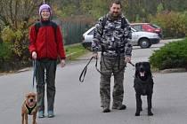 Extrémní kynologický vytrvalostní sport. Při něm psovod se psem překonávají v terénu velké vzdálenosti, bivakují v přírodě. To je dogtrekking. Petr Blažek se členy kynologického klubu Blansko pořádá závod Dogtrekking za pokladem Voka IV. z Holštejna.
