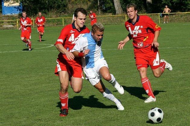 Fotbalisté Blanska za silnějším soupeřem opět zaostali v proměňování příležitostí.