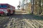 Hasiče na jihu Moravy zaměstnávaly v pondělí odpoledne a navečer lesní požáry. V některých případech museli při zásazích na Blanensku a Brněnsku vyhlásit druhý stupeň požárního poplachu.