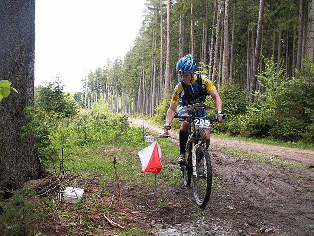 V Blansku se jel závod mistrovství republiky v Montain Bike Orienteeringu.
