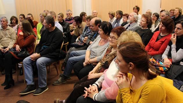 Návštevníci přednášky