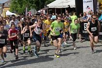 Boskovické běhy přilákaly stovky běžců i diváků. Ti vytvořili podél trati fantastickou atmosféru.