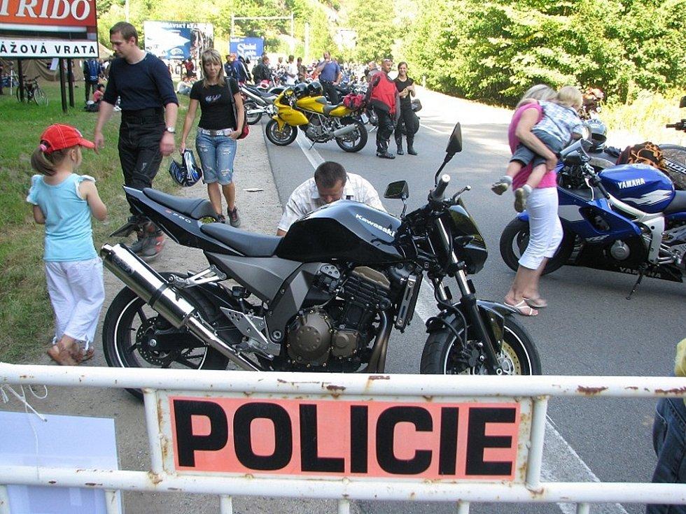 Policie připravila bezpečnostní akci zaměřenou na motorkáře.