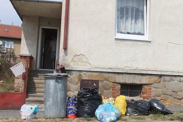 Vtomto domě na Havlíčkově ulici vBlansku bydlí sociálně slabší.