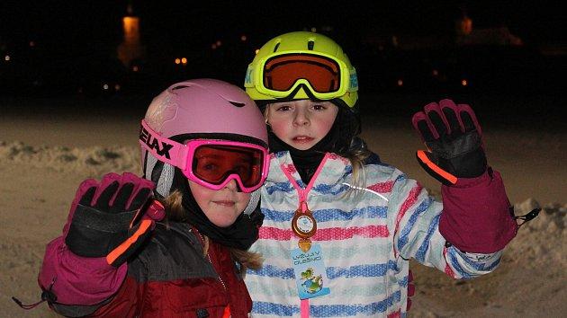 Hurá na svah. Olešnickou sjezdovku obsadili lyžaři, funguje kotva a dětský vlek