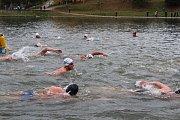 Na blanenské přehradě Palava si to mezi sebou rozdalo 170 plavců ve druhém ročníku Českého poháru v zimním plavání.