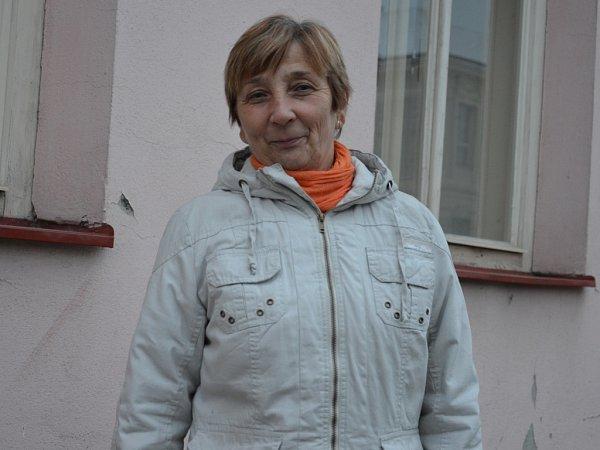 Starostka Stvolové Oldřiška Kořístková.