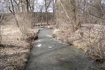 Jarní potok Úsobrnka