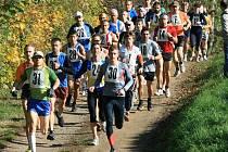 Za slunečného počasí vyrazilo na trať Kunštátské desítky devětatřicet běžců.