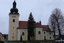 Kostel sv. Stanislava v Kunštátě.