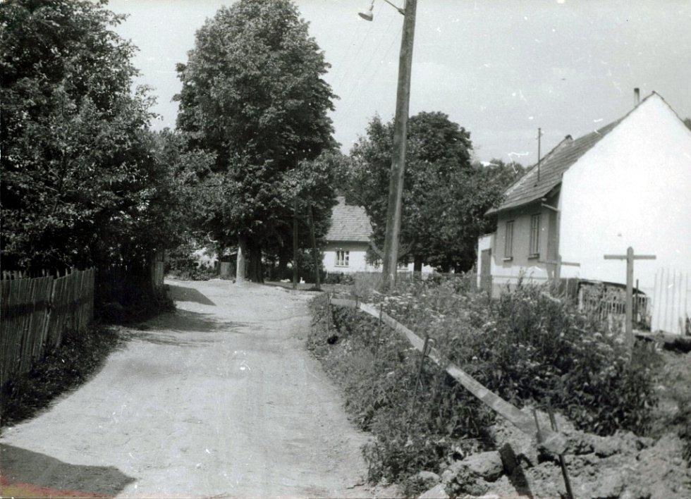 Konec zátopy části osady Dol.