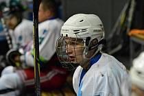 Na otřesy mozku mám smůlu, říká hokejista blanenských Dynamiters Tomáš Antoňů. FOTO: ARCHIV TOMÁŠE ANTOŇŮ