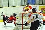 V 18. kole krajské hokejové ligy porazila Minerva Boskovice HC Uherský Ostroh 7:6.