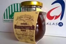 V nabídce nechybí ani košer med pod názvem Kosher Boskowitzer Honik.