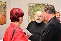 Návštěvníci letovického zámku mohou zhlédnou obrazy brněnského malíře Vladimíra Svobody.