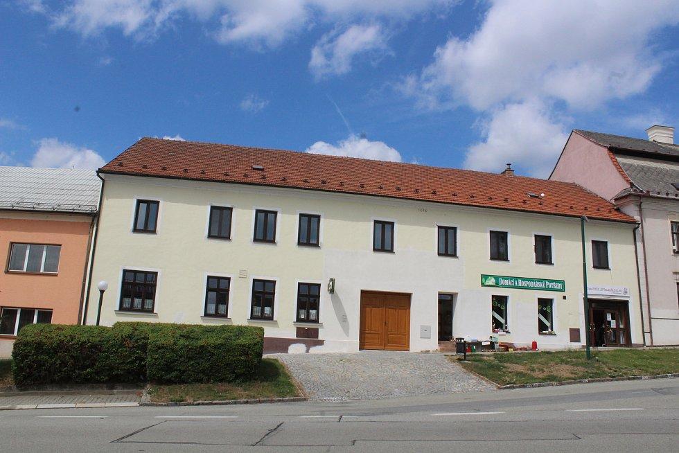 Panský dům v Kunštátu je stále uzavřený.