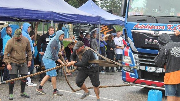 Siláci se v Boskovicích deště nezalekli