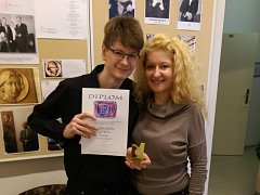 Dalibor Spilka s maminkou.