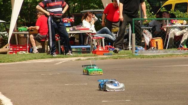 Závody RC modelů automobilů v Blansku