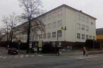 Budova Gymnázia Blansko.