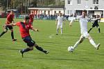 V utkání 21. kola Fortuna Moravskoslezské ligy prohráli fotbalisté FK Blansko s 1. HFK Olomouc 0:1.
