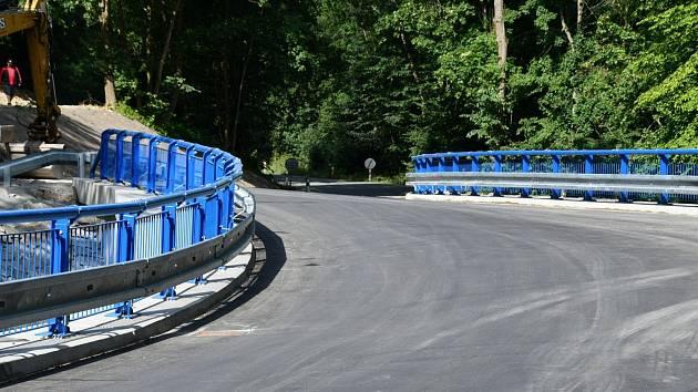 Nový most v Pilském údolí u Boskovic.