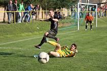Fotbalisté Ráječka prohráli s vedoucími Mutěnicemi 2:0.