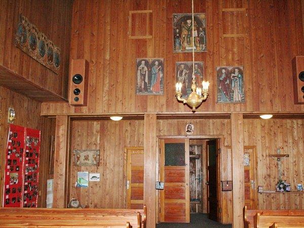 Dřevěný kostelík vBlansku