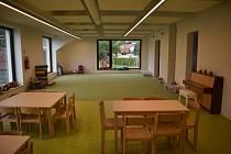 Spešovské maminky se dočkaly. Nová školka má kapacitu 46 dětí.