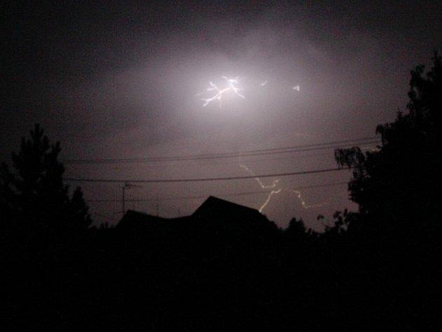 Bouřky způsobily na Blanensku řadu problémů.