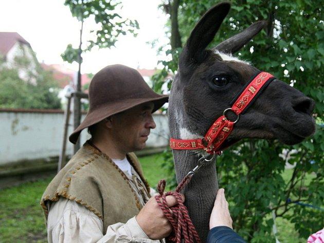 V Blansku se v sobotu konal Historický jarmark a zároveň i Den dětí.