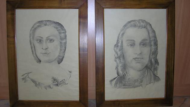 Obrazy hrabat Gellhornů