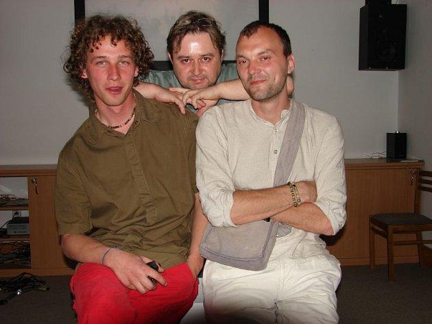 Michal Griga (vpravo) a jeho tým nejbližších spolupracovníků